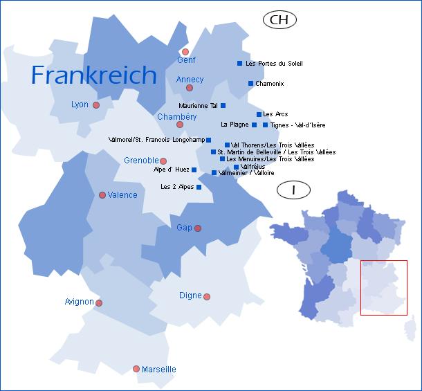 winterreise.de - übersichtskarte Frankreich
