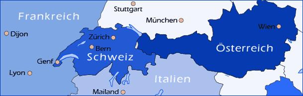 winterreise.de - übersichtskarte Reise-Länder